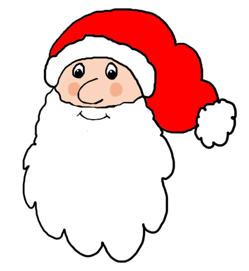 png stock Beard clipart small. Father christmas santa claus