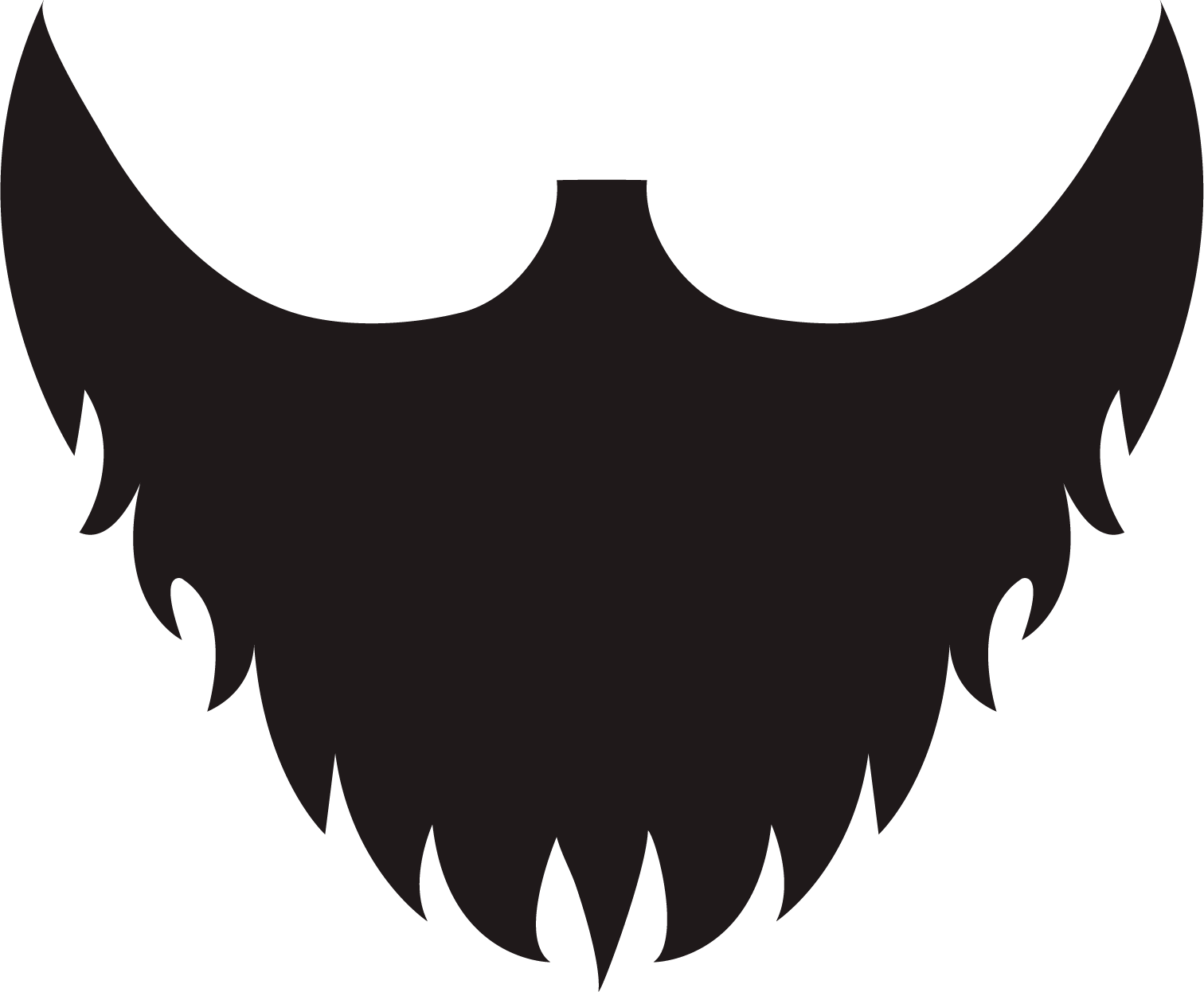 jpg library download Beard clipart small beard. Png transparent free images.