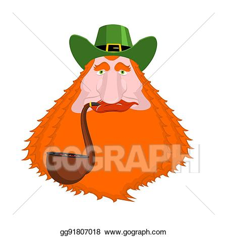 graphic library library Eps illustration patrick s. Beard clipart st patricks day