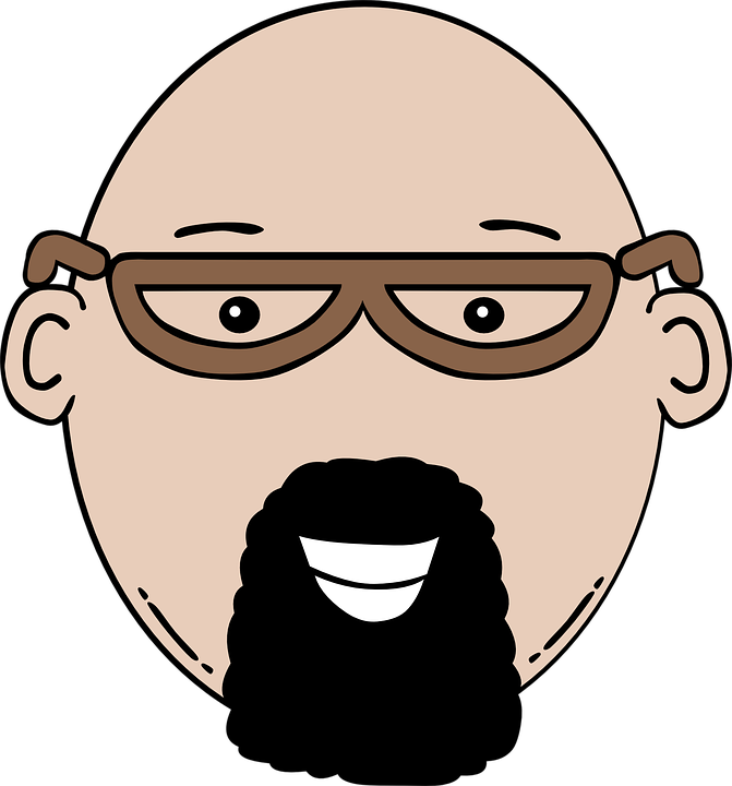 banner freeuse Beard clipart stock. Bald explore pictures