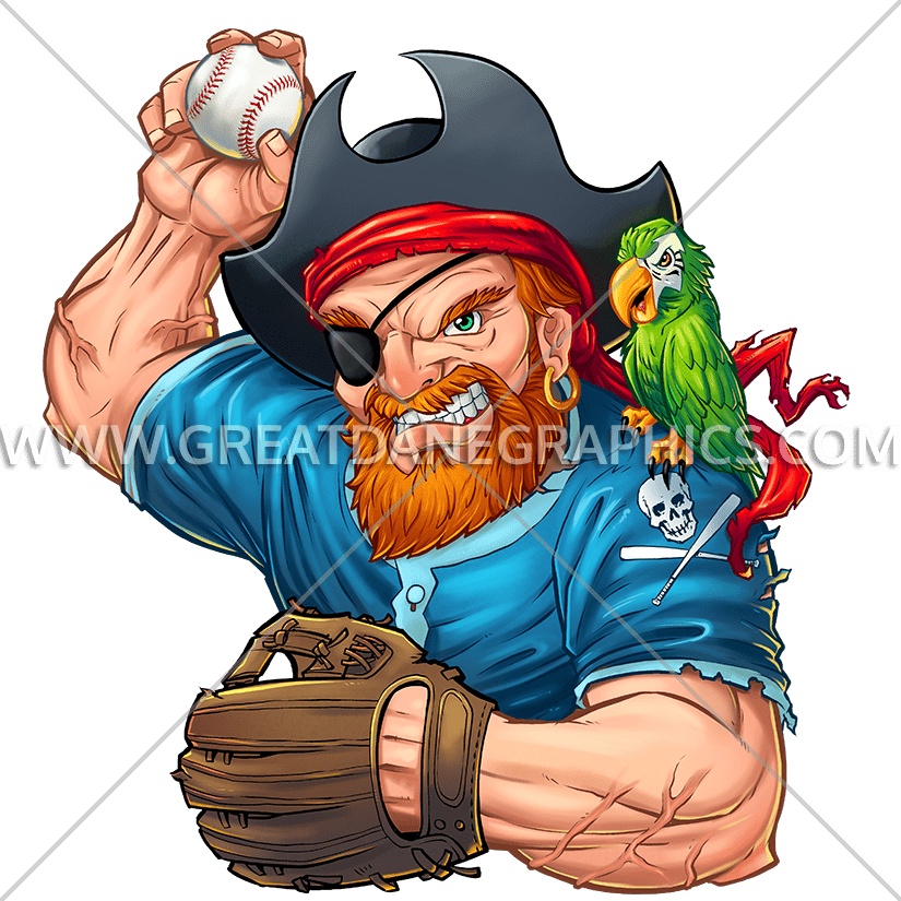picture library library Beard clipart stock. Pirate baseball player production