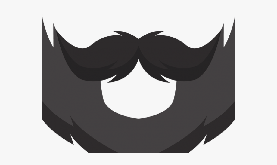 graphic free Beard clipart stock. Transparent background clip art