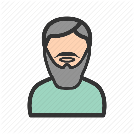 png library download Beard clipart stylish. Avatars filled line i