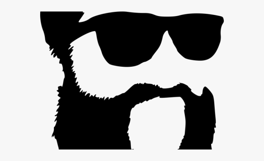 clip library download Sunglasses hipster free png. Beard clipart sunglass.