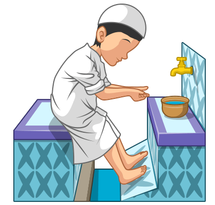 png stock Wudu learn salaah form. Beard clipart sunnah