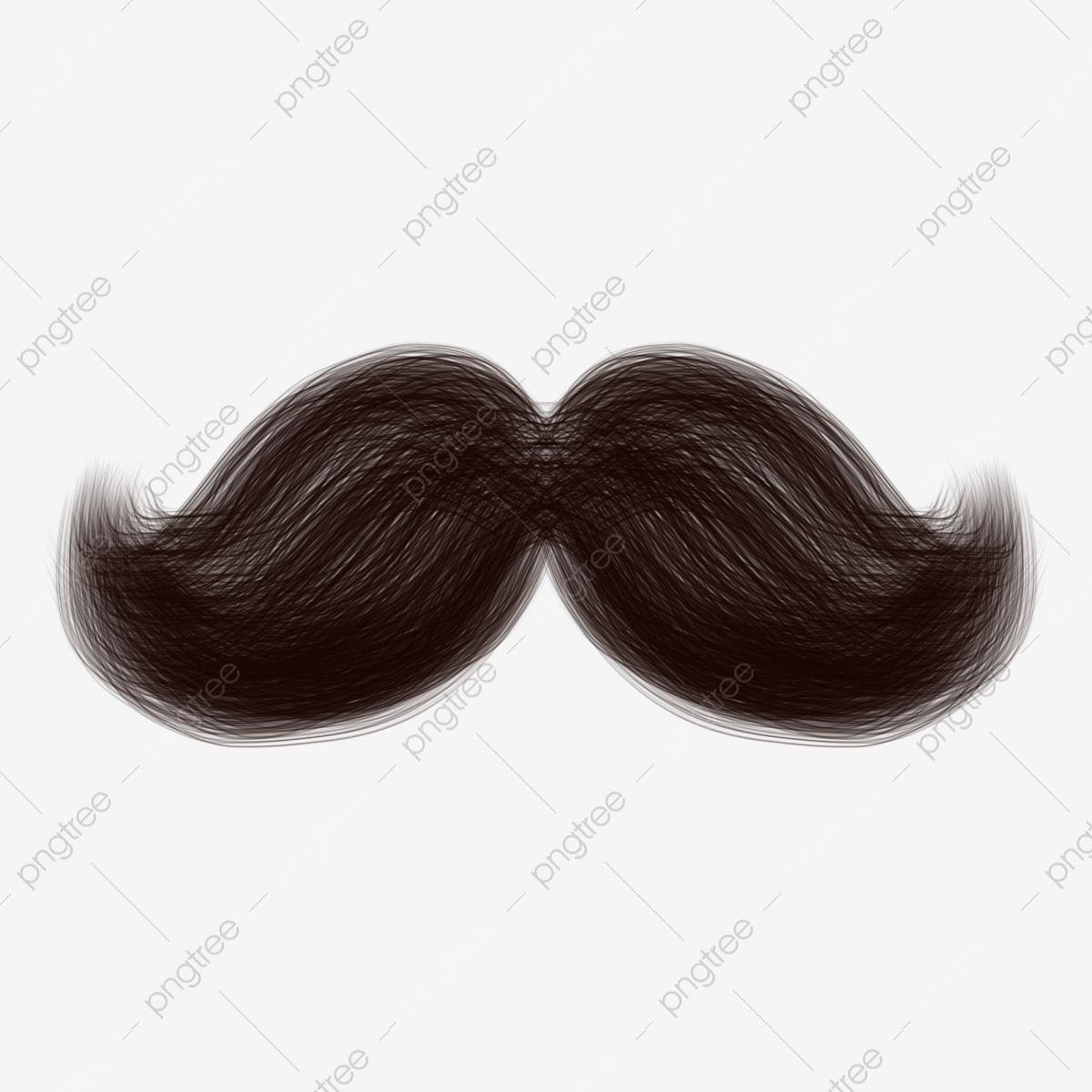 jpg freeuse Beard clipart texture. Facial decorative brush black.