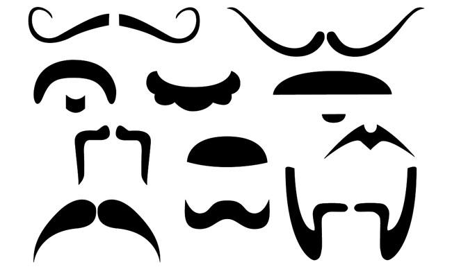 jpg download Free download clip art. Beard clipart thin mustache
