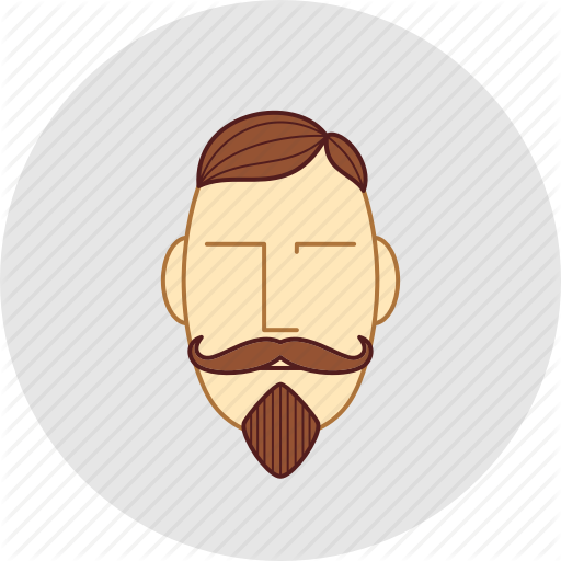 picture freeuse stock Barber shop by ai. Beard clipart thin mustache
