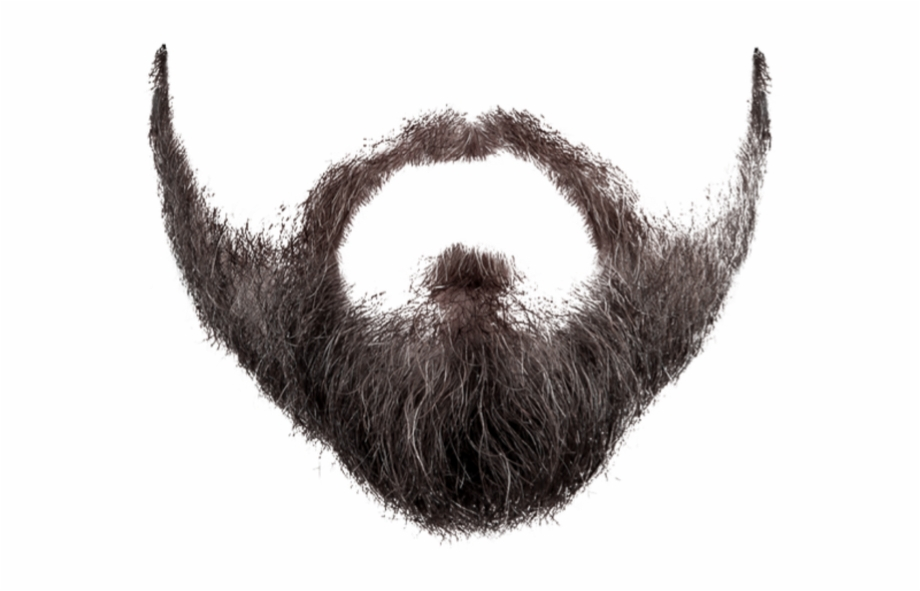 image black and white Beard clipart transparent background. Png image moustache clip