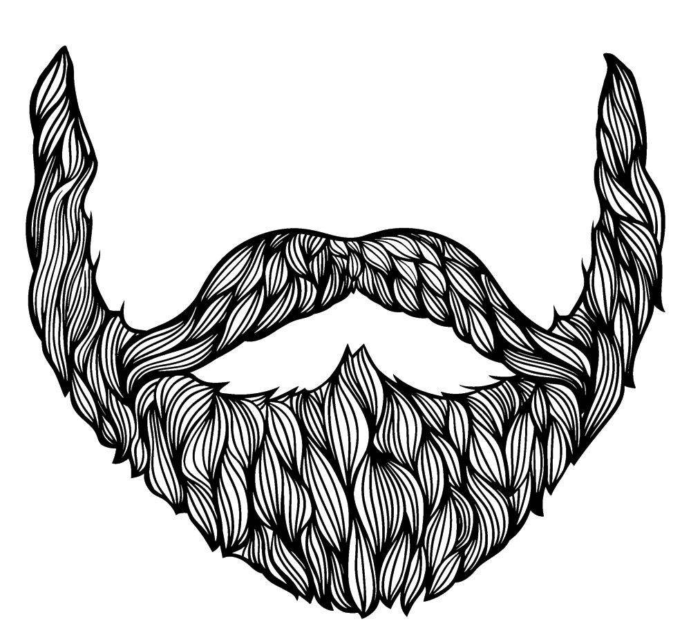 jpg royalty free library Beard clipart transparent background. Drawing png stickpng