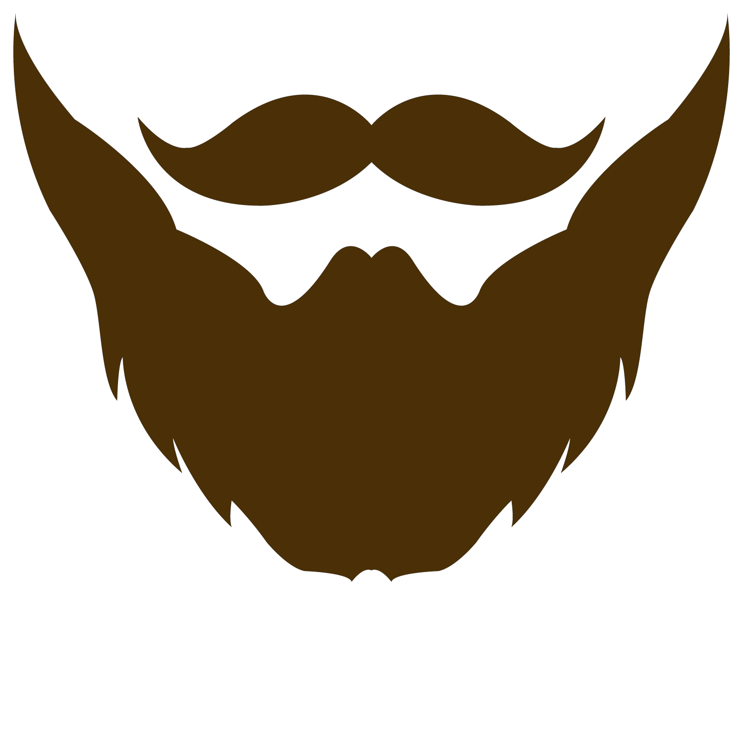 banner stock Collection of free begirded. Beard clipart vector