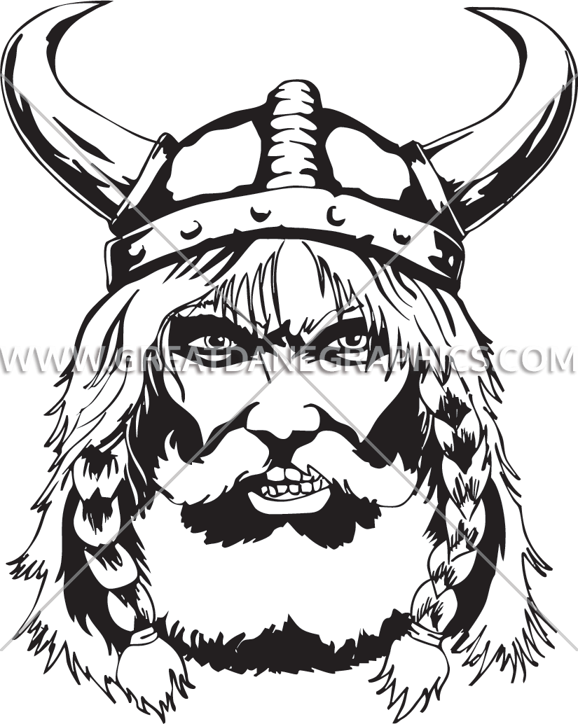 image transparent Production ready artwork for. Beard clipart viking