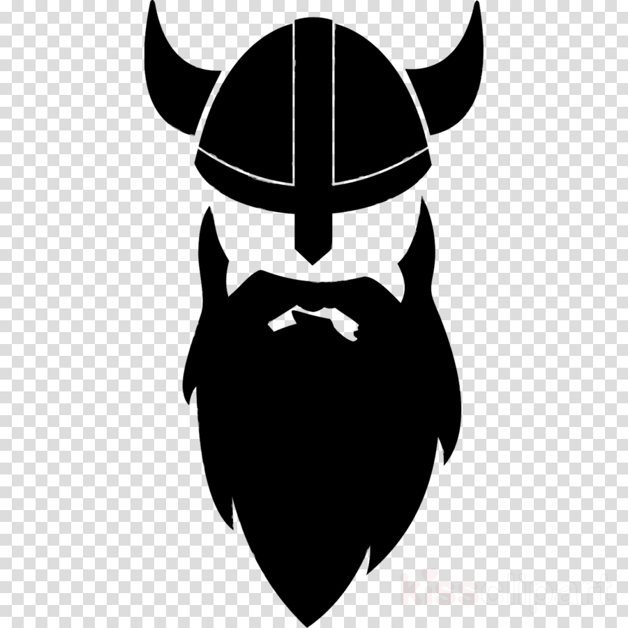 black and white library Moustache cartoon drawing . Beard clipart viking