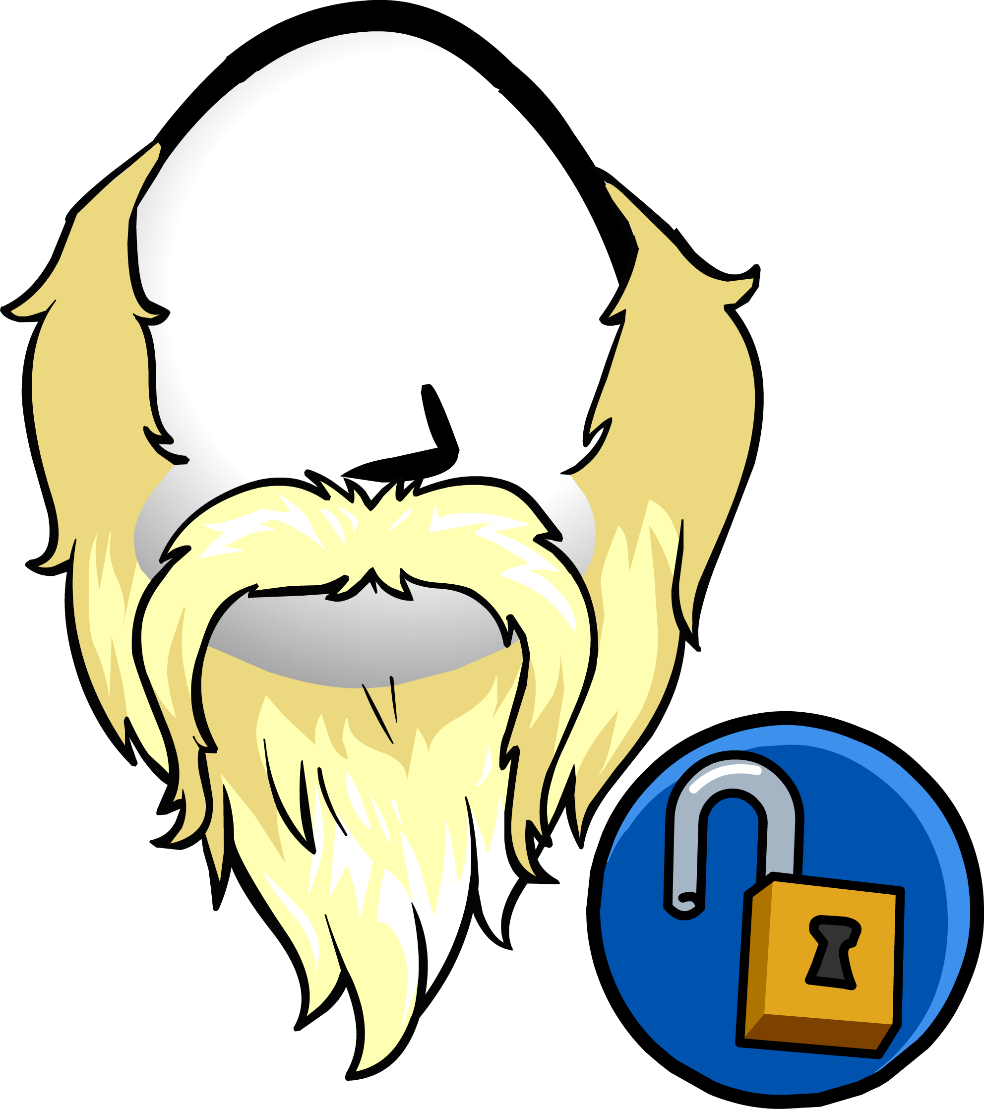 clipart library download Club penguin wiki fandom. Beard clipart viking