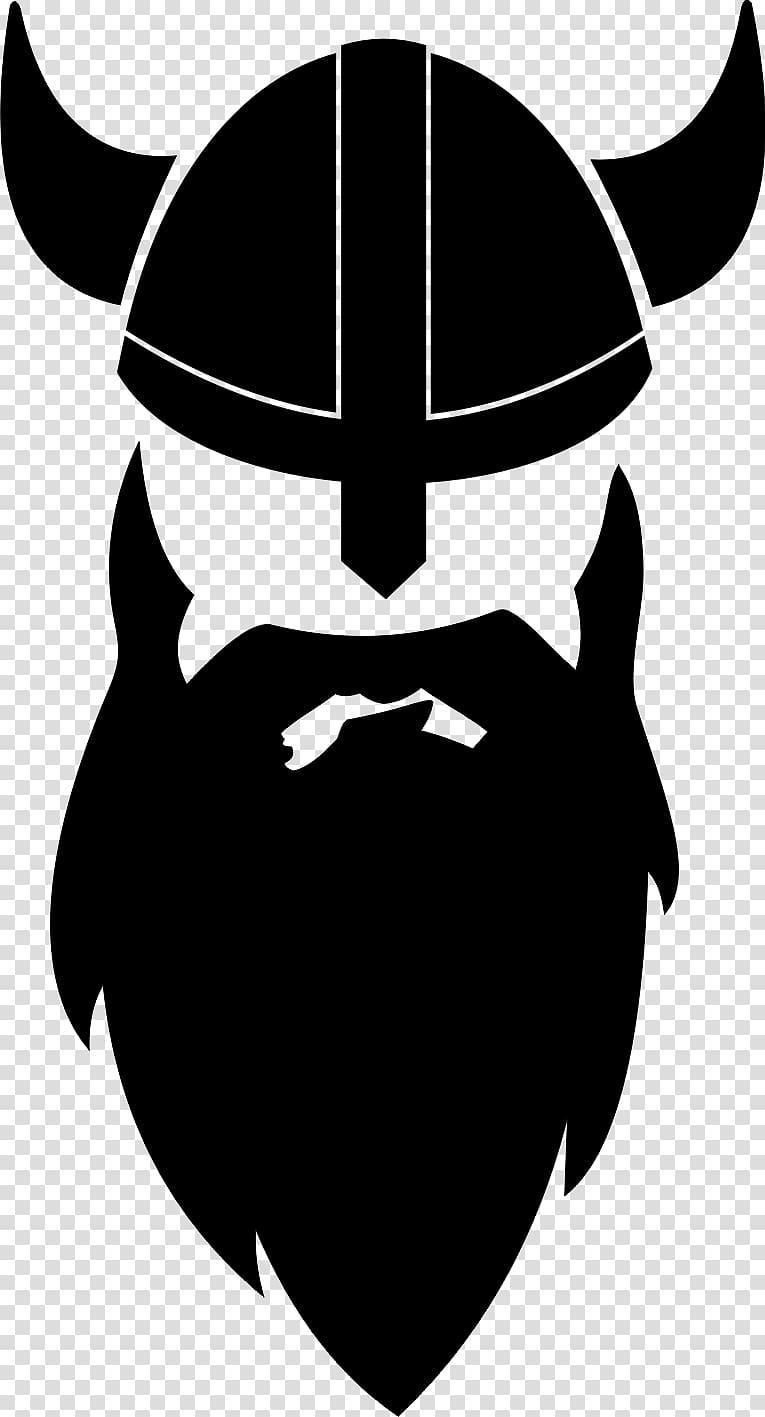 graphic library stock Beard clipart viking. Man with helmet illustratioj.