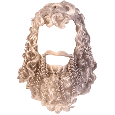 svg royalty free stock Hair and transparent png. Beard clipart vintage