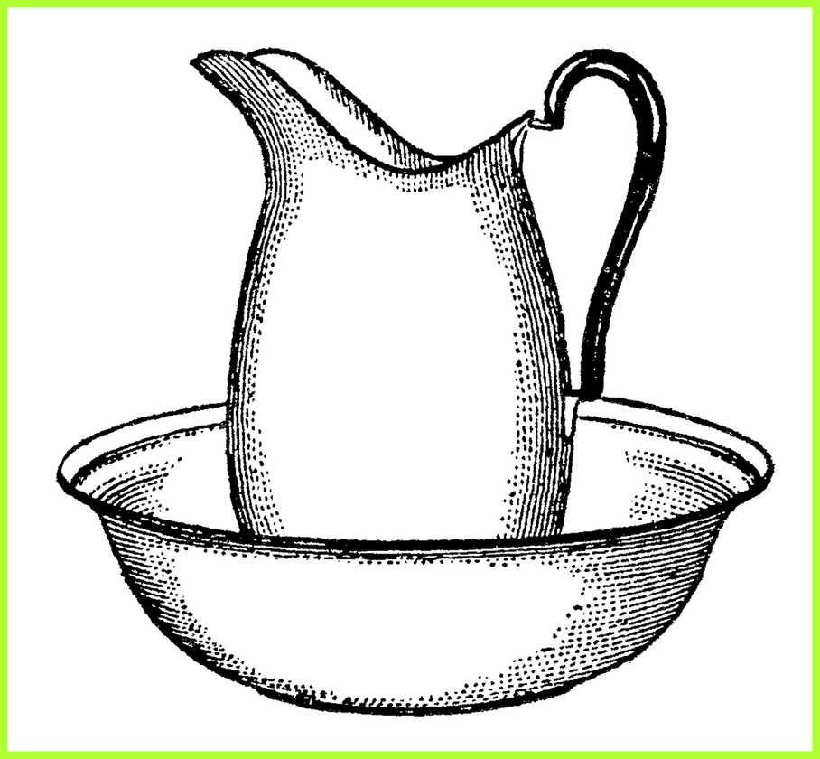 black and white stock Inspiring antique pitcher and. Beard clipart vintage