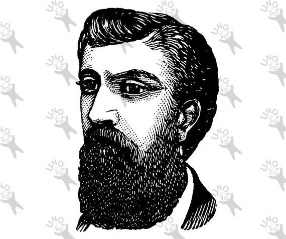 image royalty free Beard clipart vintage. Bearded man image mustache.