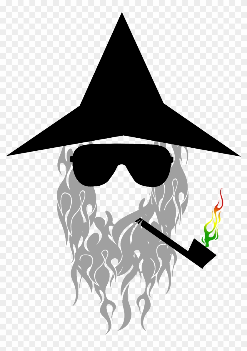 clip art transparent stock Beard clipart wizard. Gandalf gang png hat