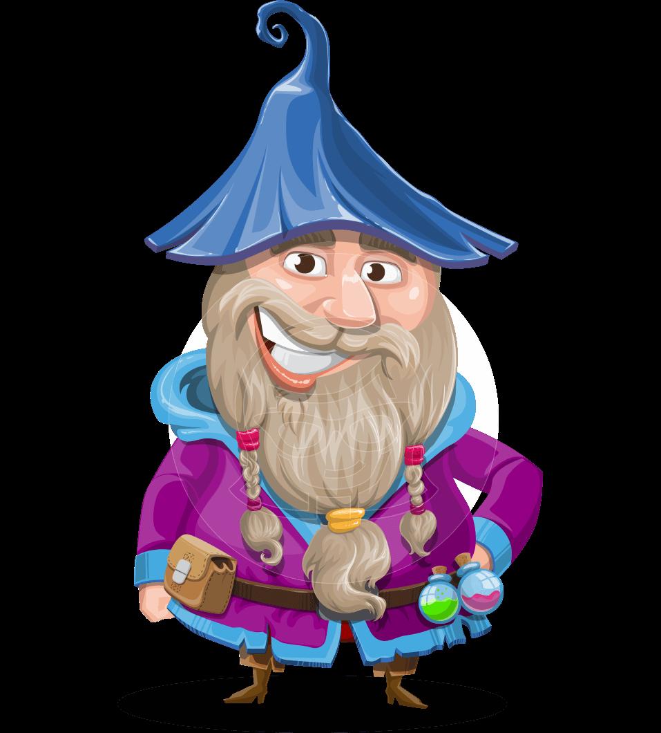 image stock Osborne the magic virtuoso. Beard clipart wizard beard