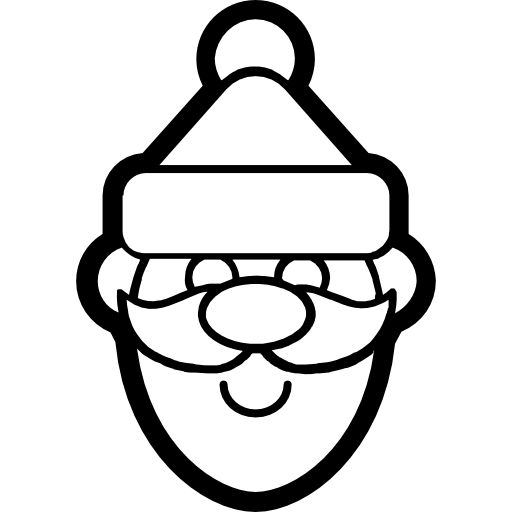 svg free download Icon page. Beard clipart xmas.