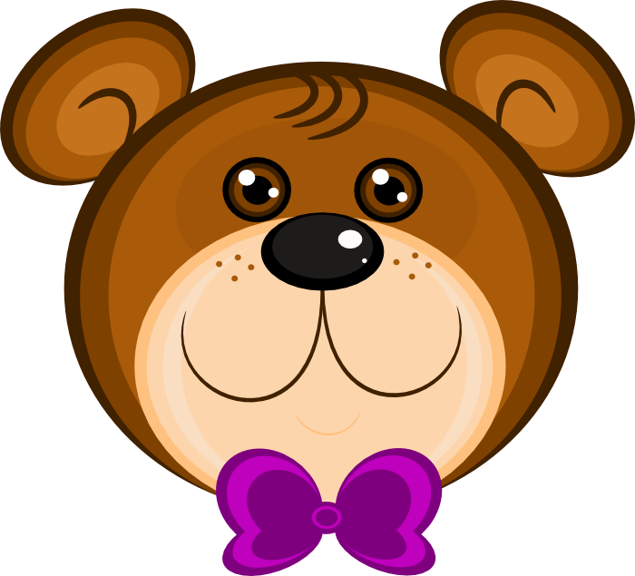jpg royalty free Grizzly clipart simple bear. Free teddy animations wearing