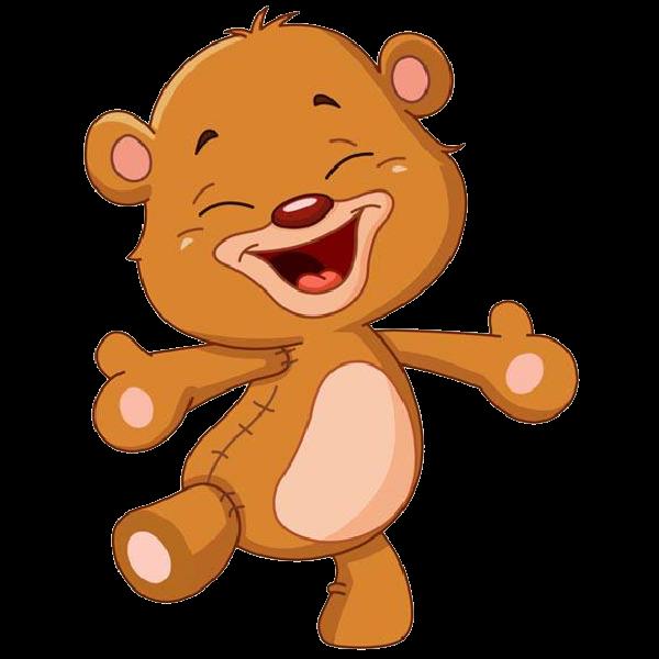 clip freeuse stock Cute cartoon . Scary bear clipart
