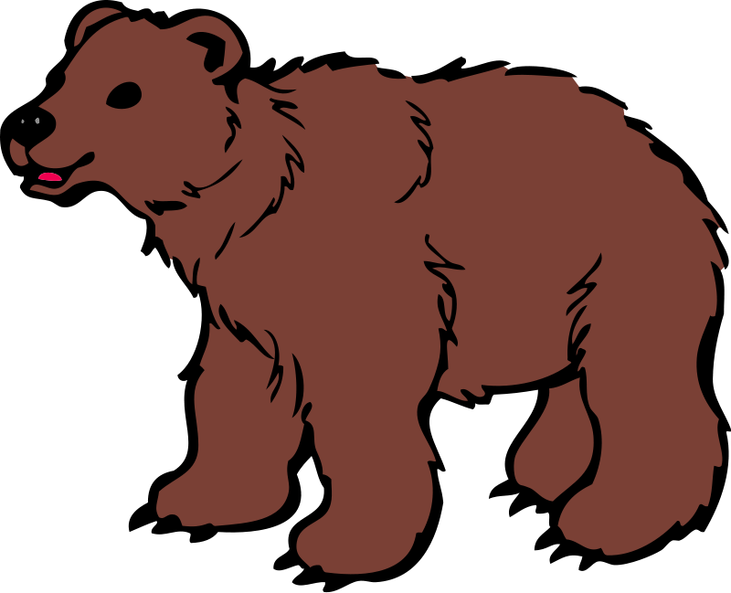 clipart transparent stock Bear Clipart