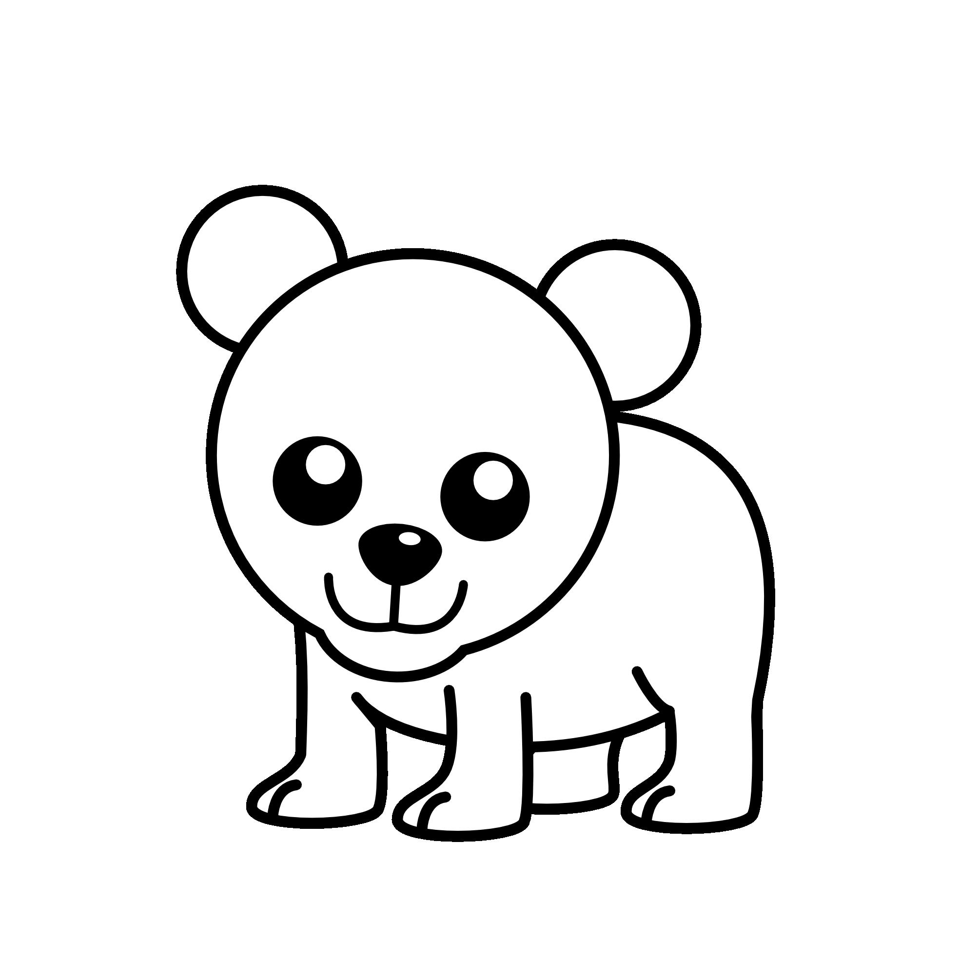 vector royalty free stock Umpire clipart cartoon. Best bear black panda