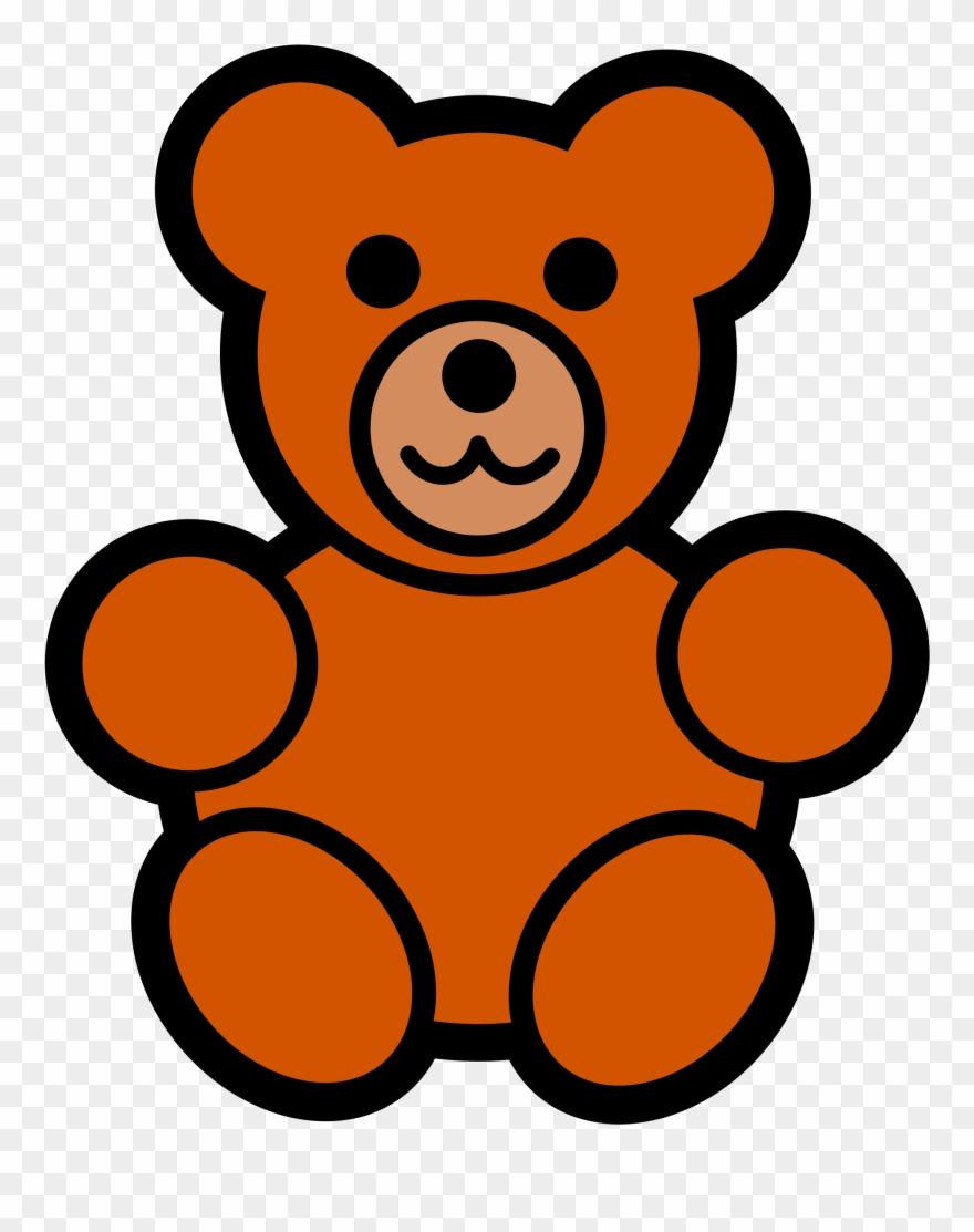 clip art library Bears clipart little bear. Teddy free images easy.