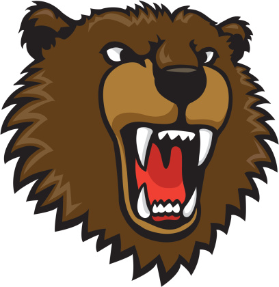 svg free stock Scary bear clipart. Free scared cliparts download