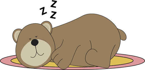 png royalty free download Sleeping clip art pinterest. Bear cave clipart