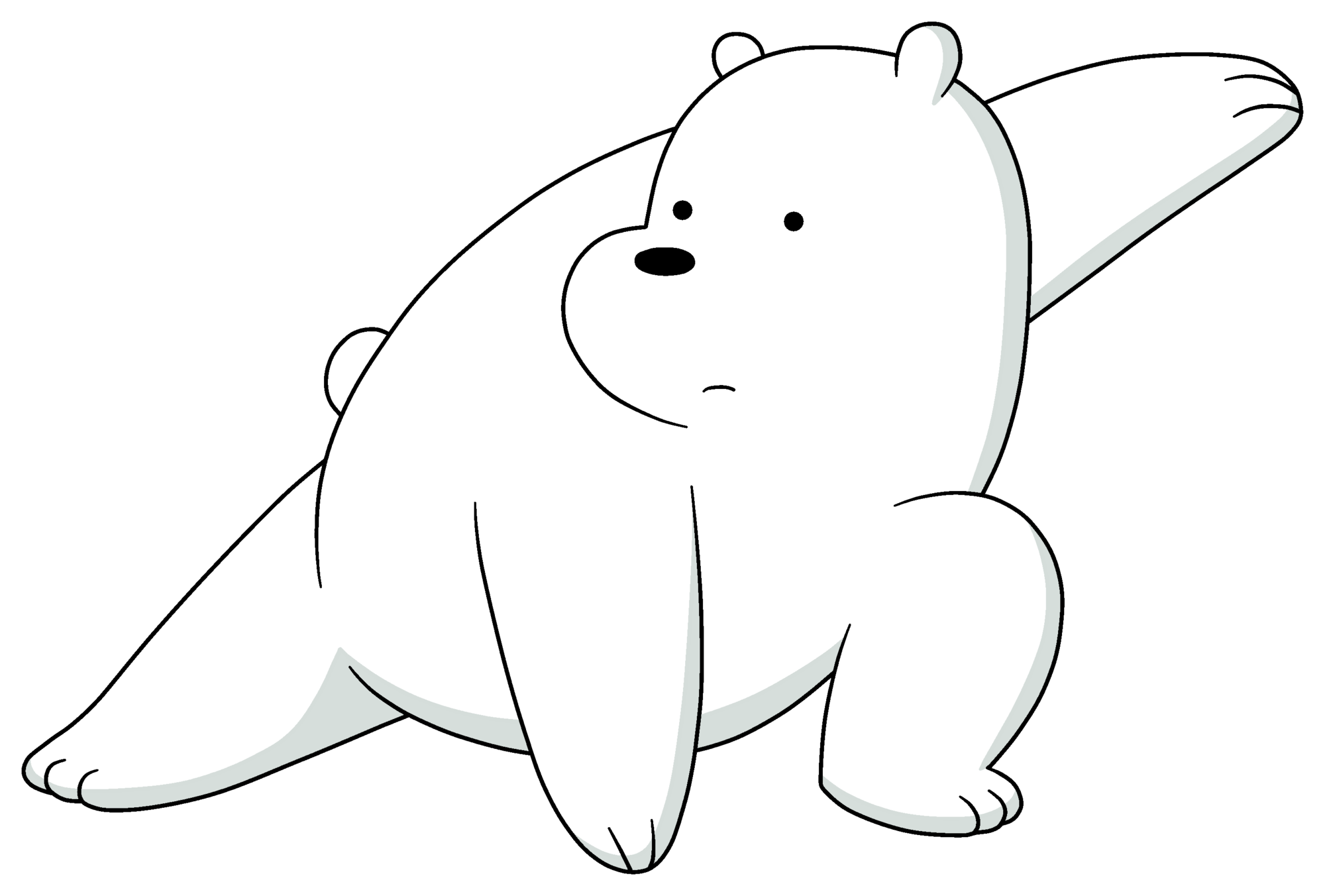 picture transparent download Ice bear we bare. Bears drawing