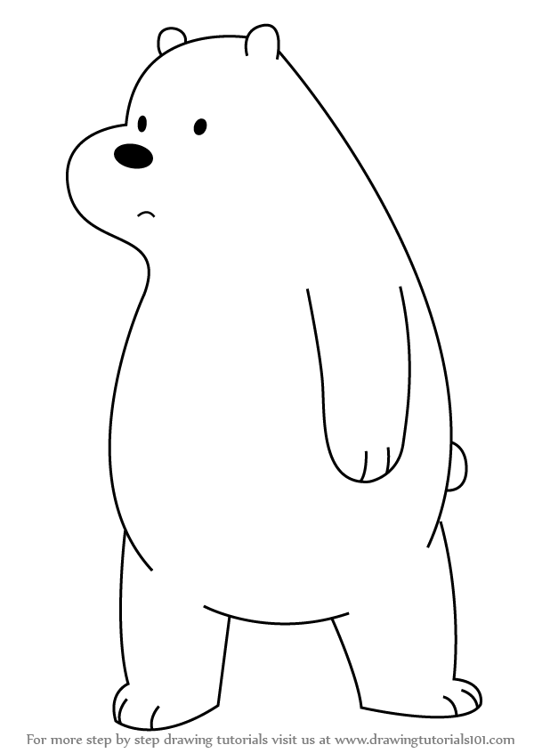 jpg transparent download How to draw ice. Bears drawing