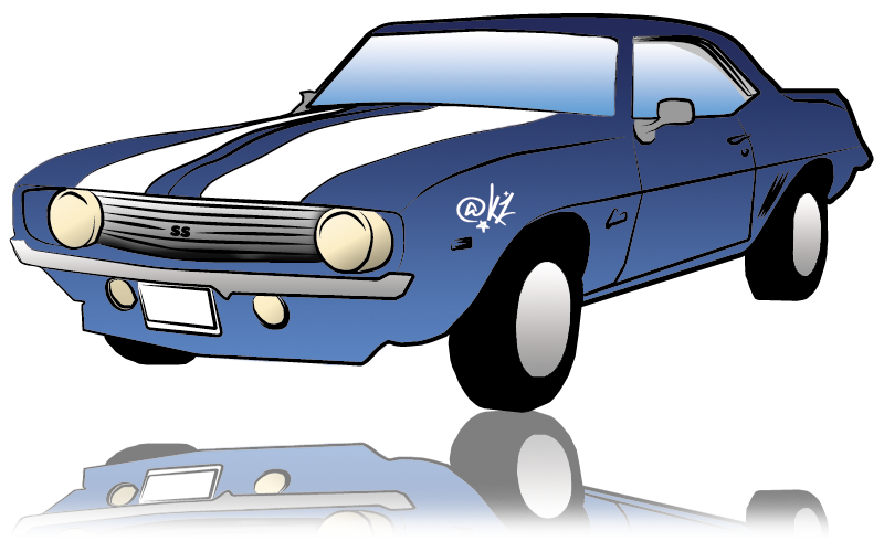 svg black and white library Clipart at getdrawings com. Camaro vector