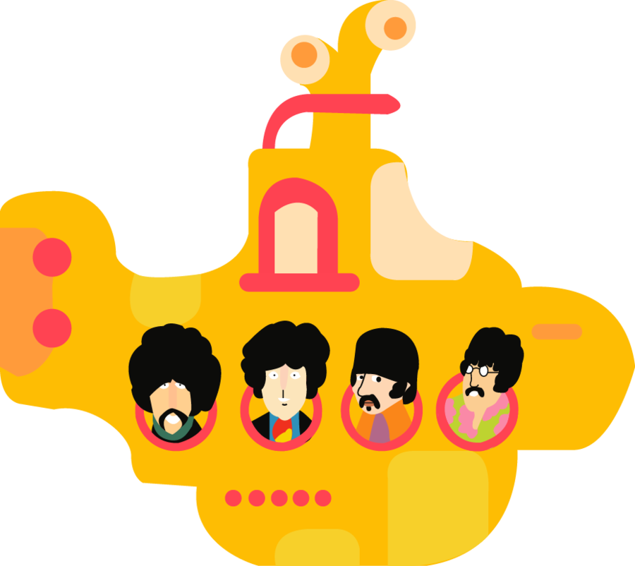 clipart free library The Beatles