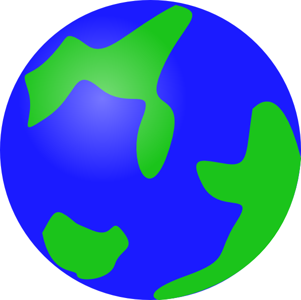 graphic black and white Earth globe clip art. Beautiful clipart blue object.