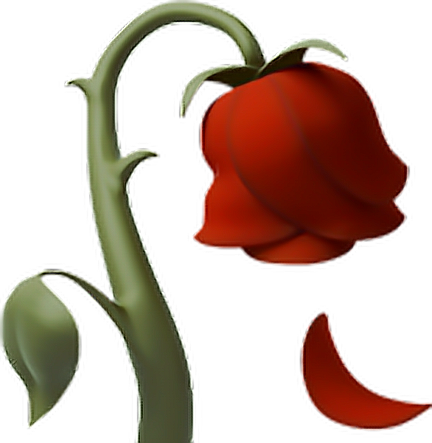jpg library library Emoji free on dumielauxepices. Beautiful clipart dead rose.
