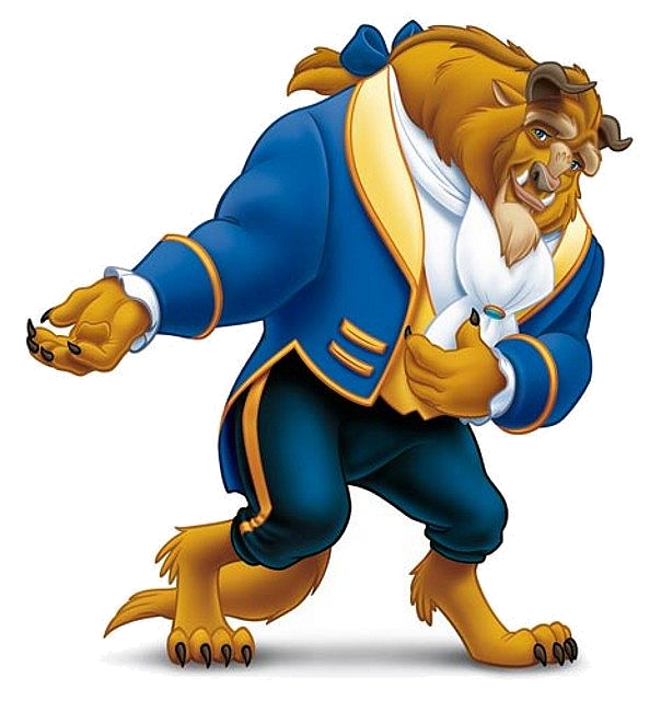 clipart transparent download Beauty and the beast clipart free. Eight interesting disney facts