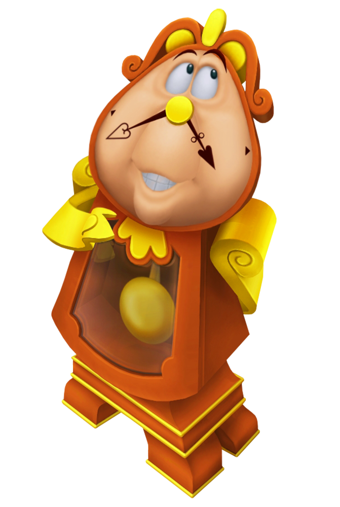 clip art transparent download Cogsworth cartoon image gallery. Transparent mirrors beauty and the beast