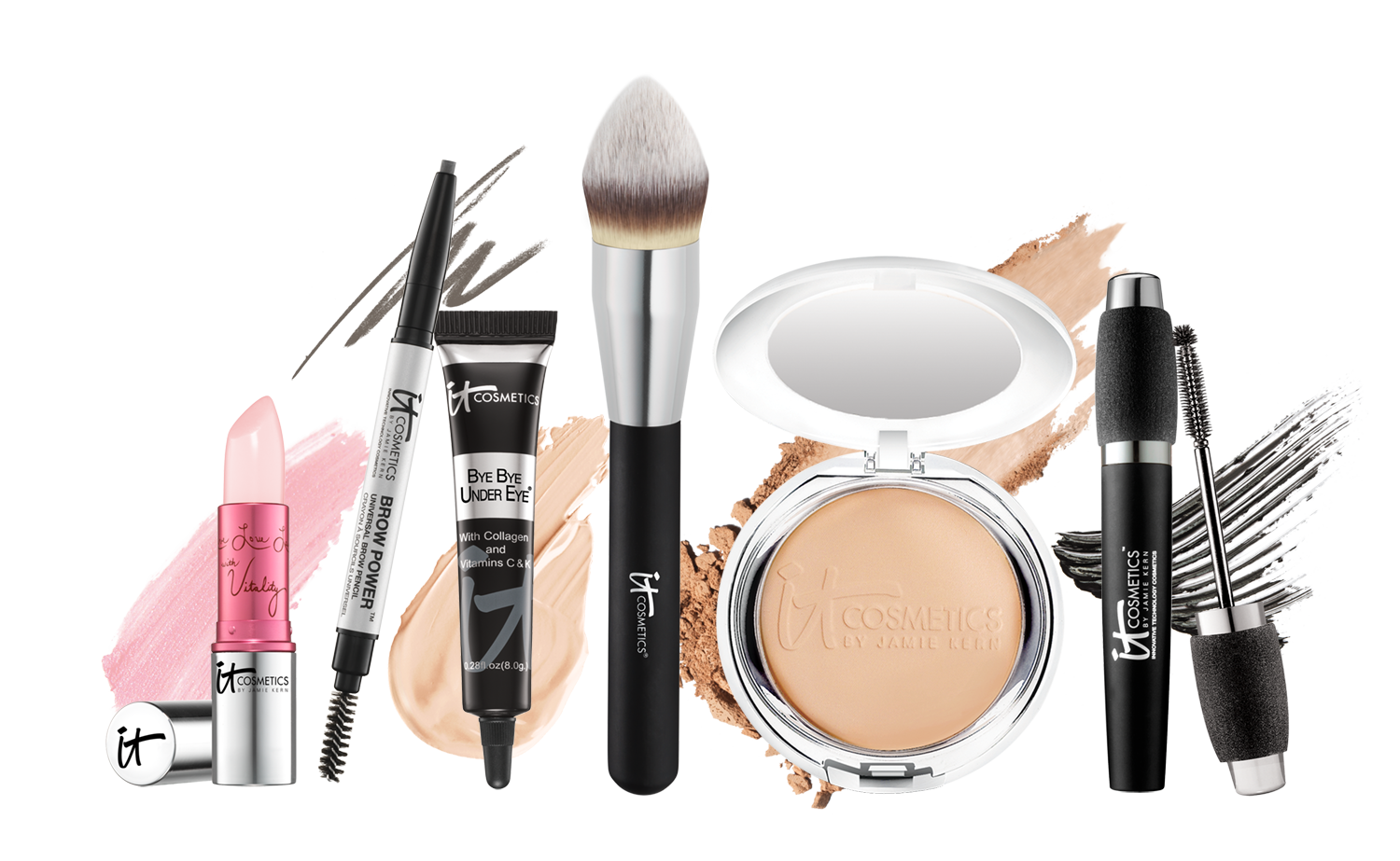 picture royalty free library Makeup Kit Products PNG Transparent Makeup Kit Products