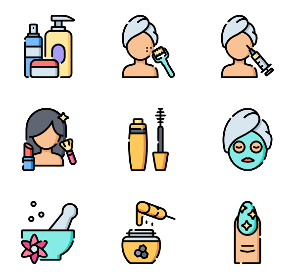 image library download Beauty Icons