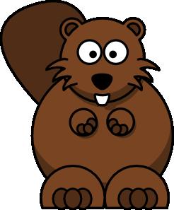 png freeuse Beaver clipart. Cartoon clip art vector