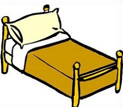 vector royalty free library Bed clipart. Free cliparts download clip