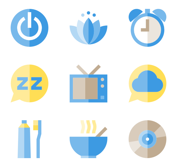 clip art download Sleep Icons