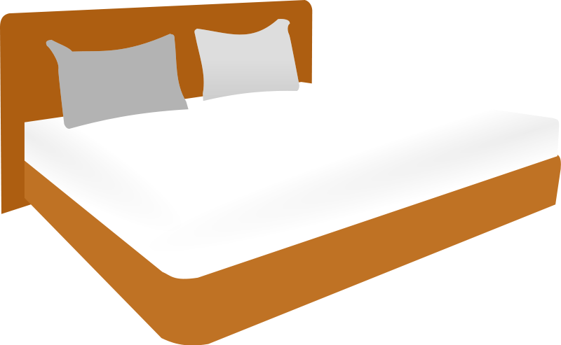graphic freeuse library Kids panda free images. Bed clipart hotel bed.