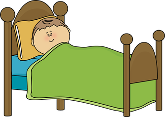 clip black and white library Wake clipart enough sleep. Is your child getting