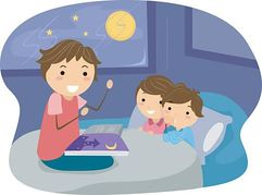 vector freeuse Bedtime story clipart. Free cliparts download clip