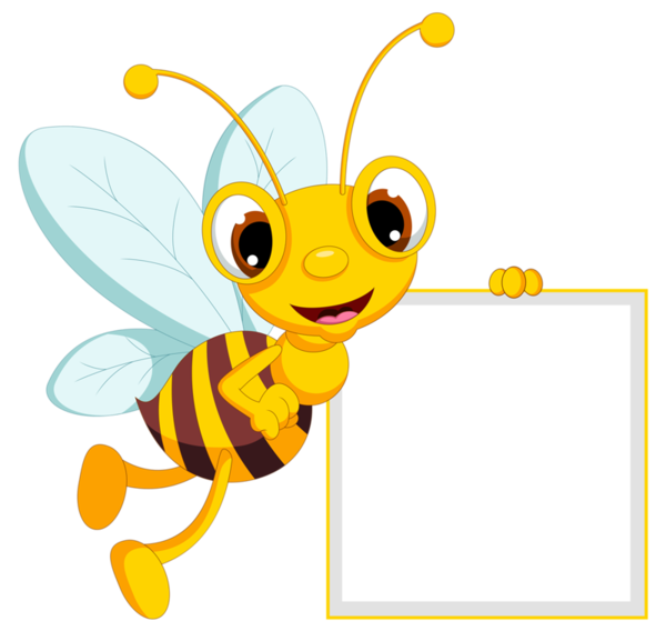 clip art freeuse library bee border clipart #57983015