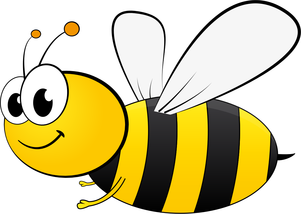clipart library library Bees clipart. Cartoon bee backgrounds top